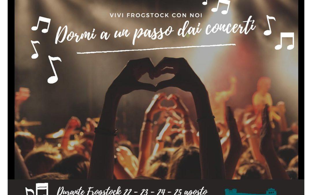 Frogstock 2018, 22/25 agosto